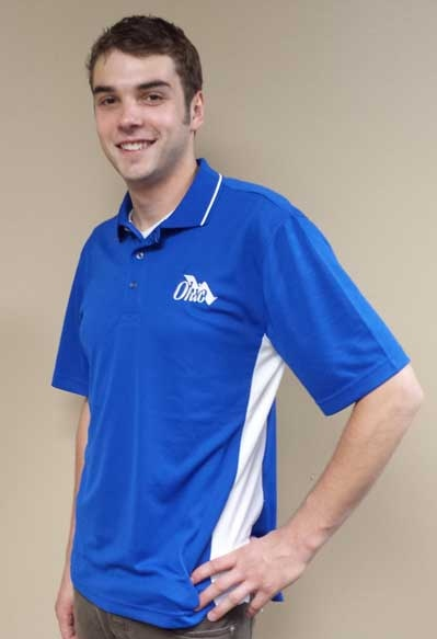 OWEA Royal & Blue Polo Shirt